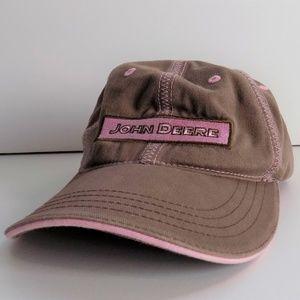 John Deere Women's Hat Pink